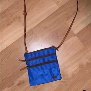 Royal Blue Dooney & Bourke crossbody purse